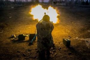 Террористы 14 раз обстреляли силы АТО