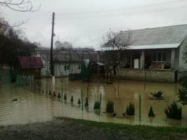 Закарпатье страдает от наводнения