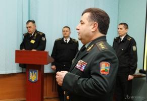 Министр обороны посетил воинские части Одесского гарнизона
