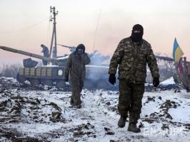 Пророссийские боевики за минувшие сутки 37 раз открывали огонь по украинским военным