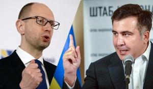 Саакашвили обвинил Яценюка во лжи и в том, что он тянет Украину в советское прошлое