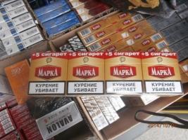 Предприимчивый водитель решил продать сельским жителям 200 блоков контрафактных сигарет