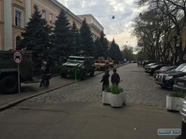 1 мая: в Одессу прибыли бойцы подразделения