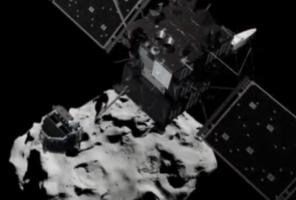 К поверхности кометы Чурюмова-Герасименко зонд