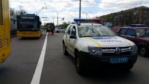 В Киеве скончалась женщина, сбитая патрульными полицейскими