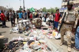 Сегодня в Багдаде произошло четыре взрыва. Жертв - 88