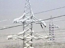 Из-за непогоды на Николаевщине без света остались 7 населенных пунктов