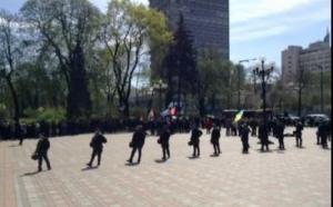 Шахтеры уже третий день подряд устраивают митинг в Киеве