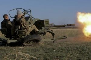 Боевики обстреляли позиции ВСУ в районе Новотроицкого из запрещенного оружия