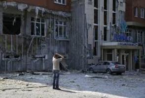 В результате обстрела Донецка пострадали два дома