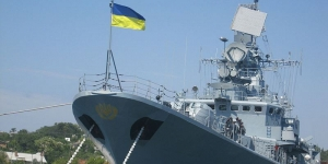 В Одесском порту ремонтируют фрегат «Гетьман Сагайдачный»