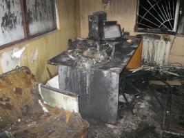 В Конотопе неизвестные сожгли телевизионную студию