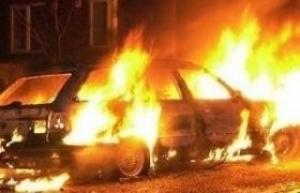 В Николаевской области сгорели два автомобиля