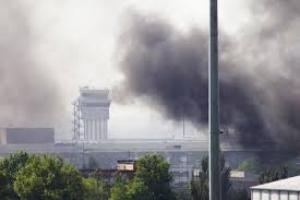 В Минобороны отрицают применение боевиками газа во время штурма донецкого аэропорта