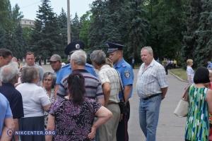 Неcмотря на запрет суда, в Одессе прошел митинг и марш Антимайдана