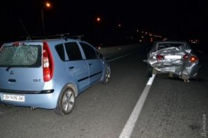 В Одессе три автомобиля сбили насмерть двух пешеходов