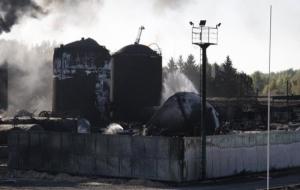 Глава СБУ рассказал о финансовых махинациях на сгоревшей нефтебазе под Киевом