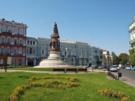 В Одессе обещают не сносить памятник Екатерине