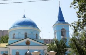 В Николаеве в Свято-Никольской соборной церкви ремонтируют крышу колокольни и восстанавливают росписи