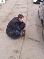 Николаевские патрульные задержали водителя, употреблявшего алкоголь прямо за рулем