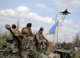 Авиация нанесла удары по сепаратистам, уничтожив бронетехнику и живую силу боевиков