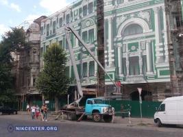 Одесский дом Руссова готовят к реконструкции (ФОТО)