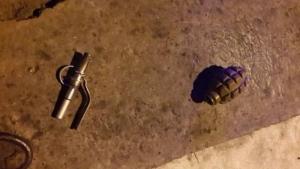 В Николаеве пьяный мужчина угрожал людям боевой гранатой
