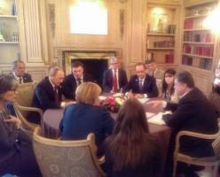 В Милане прошла вторая за сегодня встреча Порошенко и Путина