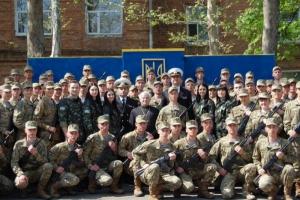 В Николаеве 120 курсантов военно-морских сил присягнули на верность народу