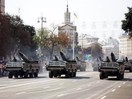 В столице Украины проходит военный парад (ОНЛАЙН-трансляция)
