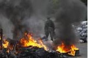 Бой в Широкино длится более трех часов, есть раненые