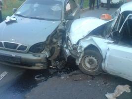 Прямо перед зданием УМВД в Херсонской области произошло ДТП