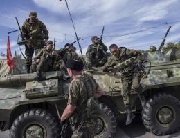 Боевики создают в Дебальцево