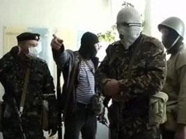 Сепаратисты требуют оружие в обмен на жизнь начальника милиции Краматорска