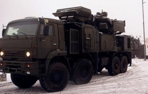 Российские войска развернули три зенитных комплекса
