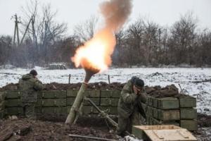 За вечер боевики обстреляли украинских военных 27 раз - штаб