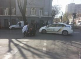 Одесские патрульные сбили женщину-пешехода