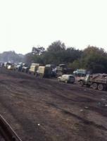 После боевого слаживания на Николаевщине батальон «Айдар» вернулся на Донбасс