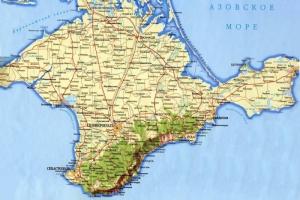 Зависимость Крыма от материковой Украины. ИНФОГРАФИКА