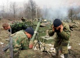 На Донбассе боевики обстреляли украинские позиции из миномета