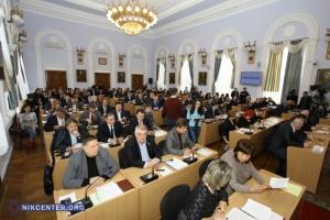 3-ю сессию Николаевского горсовета разделили на два пленарных заседания из-за большого количества земельных вопросов