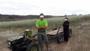 В Одесской области с помощью дрона поймали молдаван, ворующих кукурузу