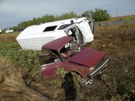 В результате ДТП под Очаковом двое человек погибли