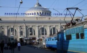 На одесском вокзале из-за наплыва туристов увеличат платформы