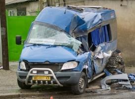 На Николаевщине маршрутка столкнулась с КамАЗом: 7 пострадавших, одна пассажирка в коме