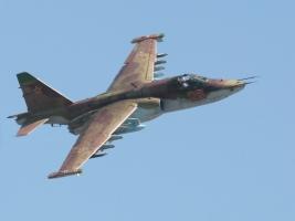 Под Запорожьем разбился военный самолет