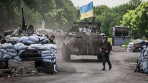 Ночью боевики дважды пытались прорваться через опорный пункт ВСУ - штаб