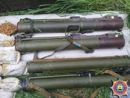 В Донецкой области массово изымают нелегальное оружие
