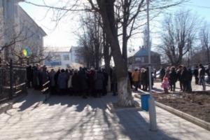 Медработники из Одесской области пикетируют мэрию