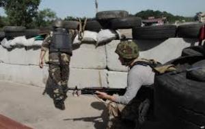 В Марьинке боевики обстреляли блокпост украинских военных